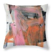 Subconscious Impressions Throw Pillow