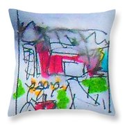 Sublime Storm Throw Pillow