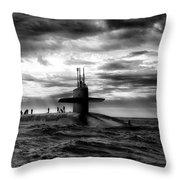 Submariner Throw Pillow