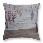 Submerged II Throw Pillow