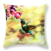 Submerged Into Sweetness Throw Pillow