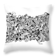 Substance Throw Pillow