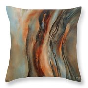 Subtle Changes Throw Pillow