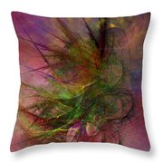Subtle Echoes Throw Pillow