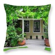 Suburban House Hayward California 17 Throw Pillow