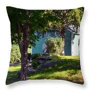Suburban House Throw Pillow