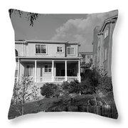 Suburban House On Hayward Boulevard Hayward California 2 Throw Pillow