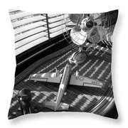 Suburban Runway Throw Pillow