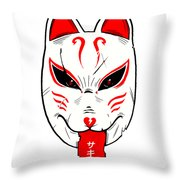 Succubus Throw Pillow