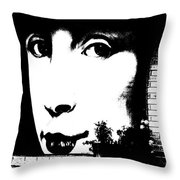 Such Lips... Throw Pillow