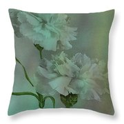 Such Serviceable Flowers Throw Pillow