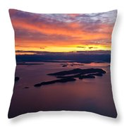 Sucia Sunset Throw Pillow