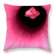 Sucked Into A Black Hole Throw Pillow