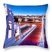 Sucre Convent Throw Pillow