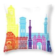 Sucre Skyline Pop Throw Pillow