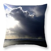 Sudden Squall Throw Pillow