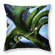 Sudden Storm Throw Pillow