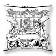 Sue Ann's Apple Pan Throw Pillow