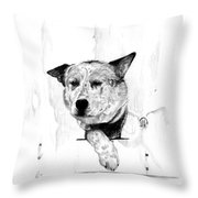 Sues Throw Pillow