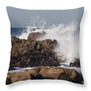 Sufficient Grace - Square Throw Pillow
