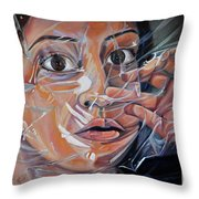 Suffocation  Throw Pillow
