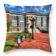 Suffolk Center For Cultural Arts Suffolk Va No.2 Throw Pillow