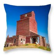 Suffolk Red Throw Pillow