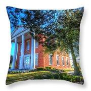 Suffolk Visitor Center  Throw Pillow