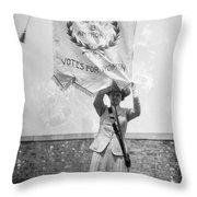 Suffragist, C1912 Throw Pillow