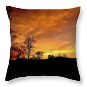 Suffused With Harmony Throw Pillow