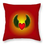 Sufi Heart I Throw Pillow