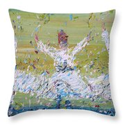Sufi Whirling Throw Pillow