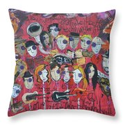 Sug At Red Rocks Amphitheater 2010 Throw Pillow