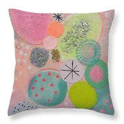 Sugar Buns Throw Pillow