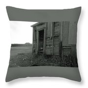 Sugar Cane Shack Throw Pillow