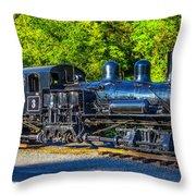 Sugar Pine Railway Train Throw Pillow