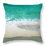 Sugar Sand Beach Throw Pillow
