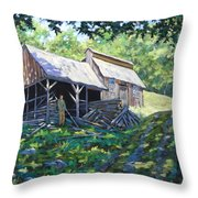 Sugar Shack In July Throw Pillow