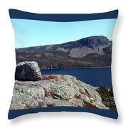 Sugarloaf Hill From The Lookout  Throw Pillow