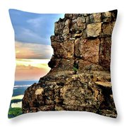 Sugarloaf Sunrise Throw Pillow