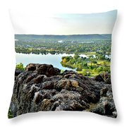 Sugarloaf View Throw Pillow