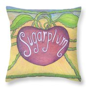 Sugarplum #2 Throw Pillow