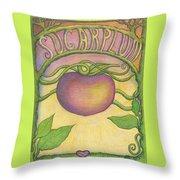 Sugarplum #4 Throw Pillow