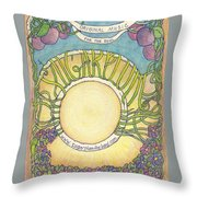 Sugarplum #5 Throw Pillow