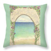 Sugarplum #6 Throw Pillow