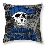 Suicidal Tendencies Throw Pillow