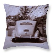 Suicide Doors Throw Pillow