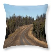 Suicide Hill Throw Pillow