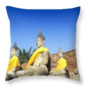 Sukhothai Historical Park Throw Pillow