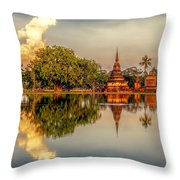 Sukhothai Park Throw Pillow